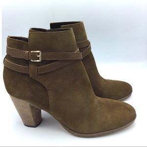 Cole Haan NEW Cassidy Buckle Leather Ankle Boots 9